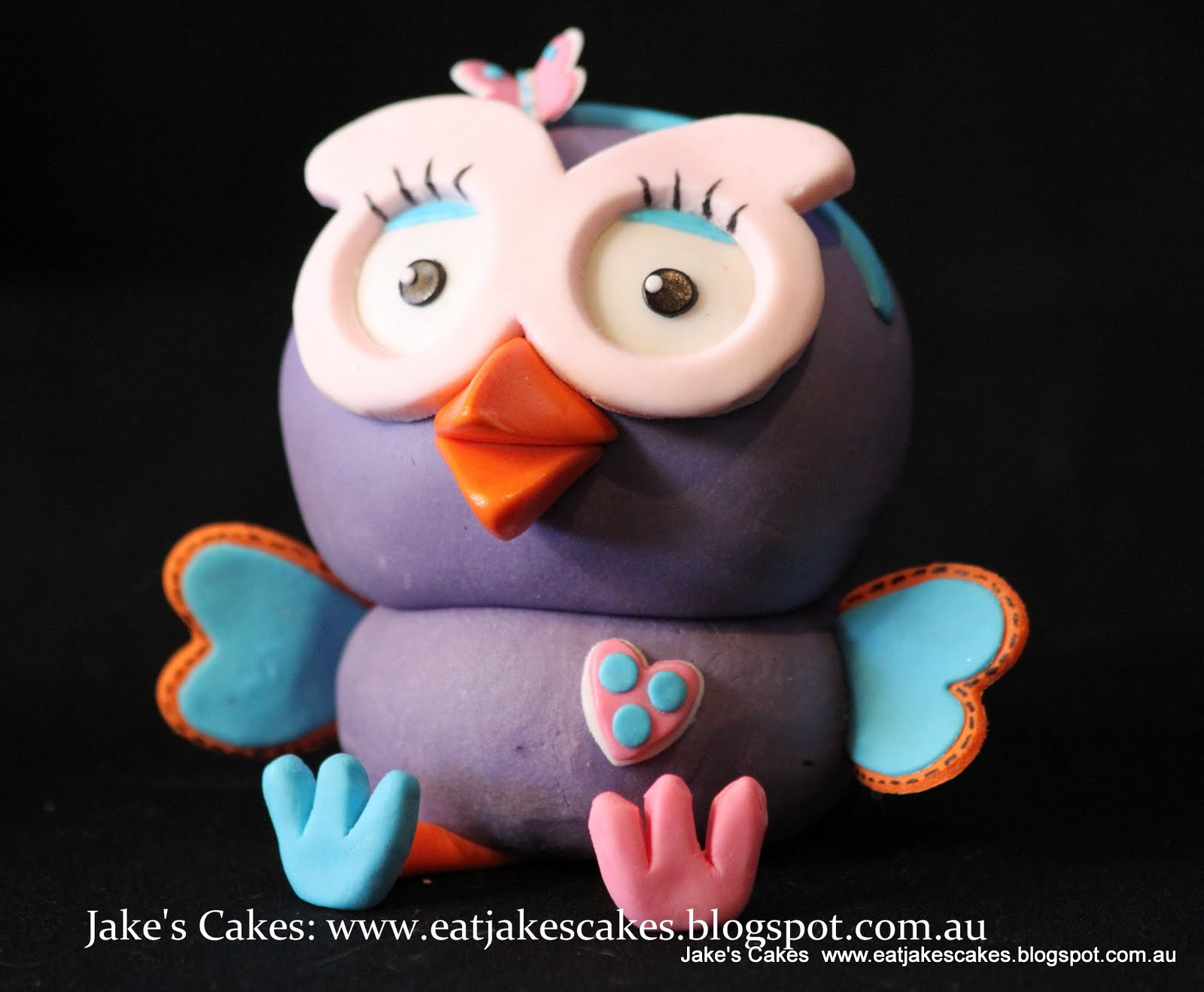 Hootabelle Cake Topper