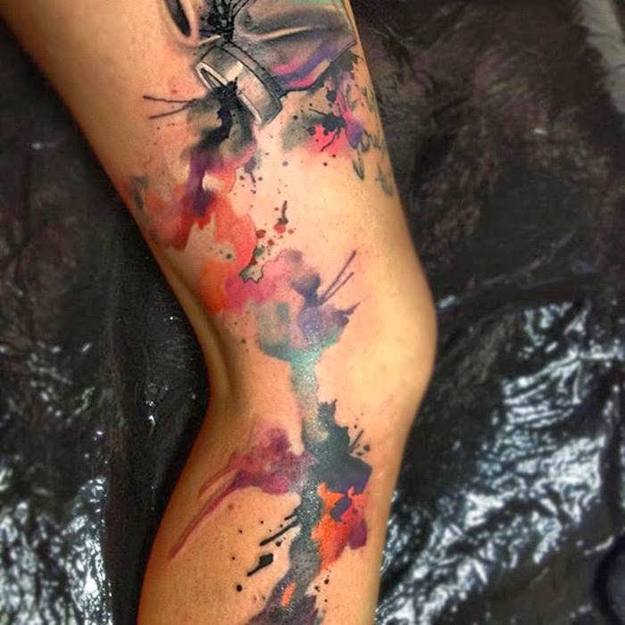Damn Cool Pictures: Watercolor Tattoos