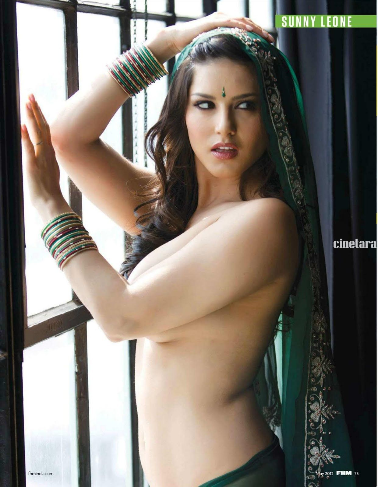 Sunny Leone FHM India Magazine 2012 Photos