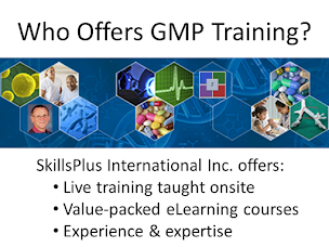 Who Offers GMP Training?