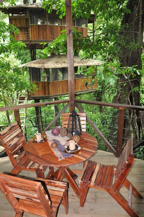 Contoh Rumah Pohon Dan Perabotannya