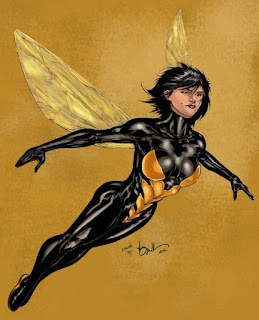 The Wasp in upcoming Marvel films