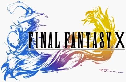 Logo de Final Fantasy X | Aula particular de inglês com games