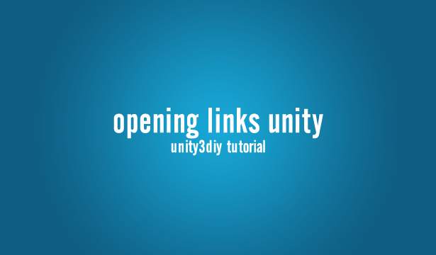Opening URL and send Email from Unity