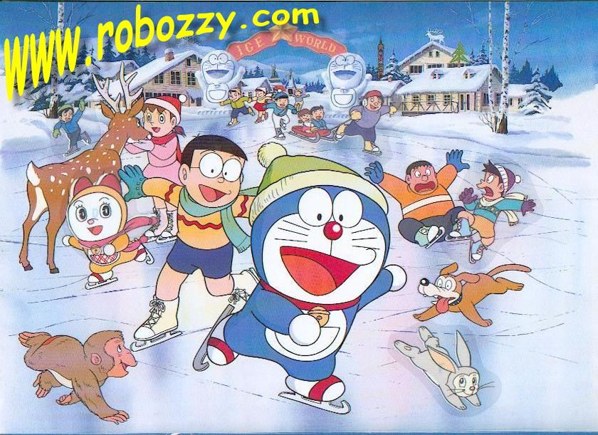 Fun Plannet Doraemon 3d Wallpaper Cartoon World