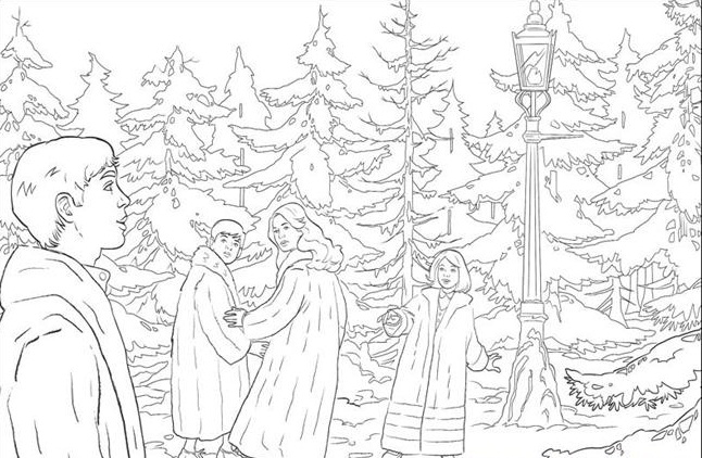 narnia coloring pages free - photo#25