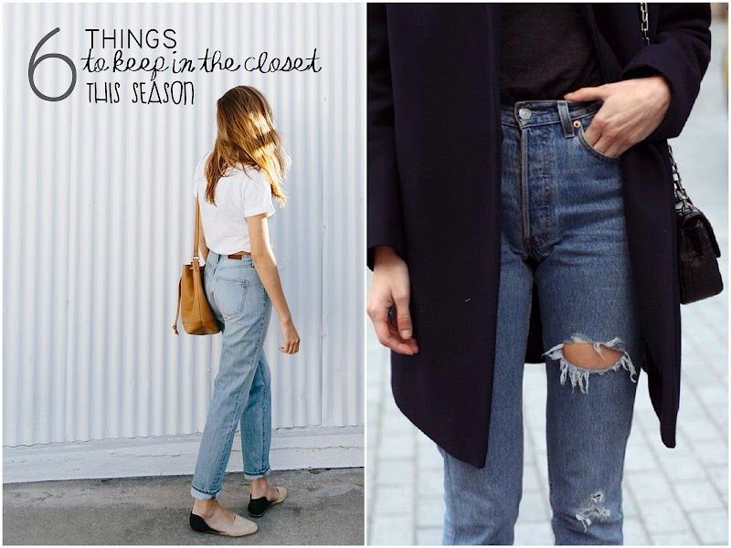 INSPIRATION |  6 THINGS TO KEEP IN THE CLOSET THIS SEASON