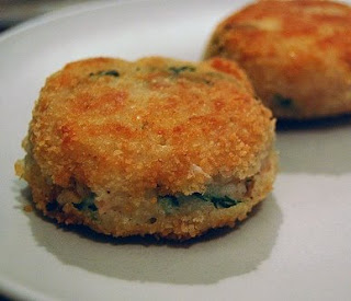 Felice in the kitchen fish cakes for Tuna fish cake recipe