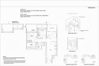 9 Residences 2 Bedrooms Floor Plans