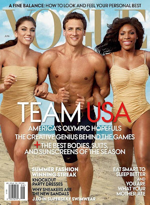Hope Solo, Ryan Lochte, Serena williams Vogue cover