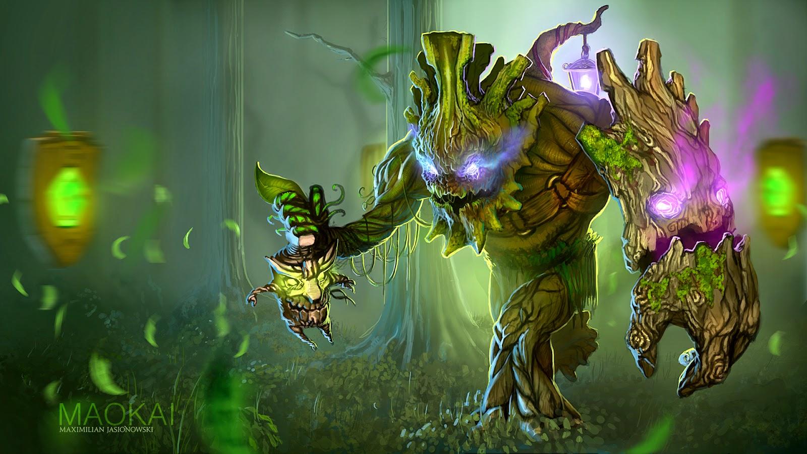 League of Legends Wallpaper Skin Green