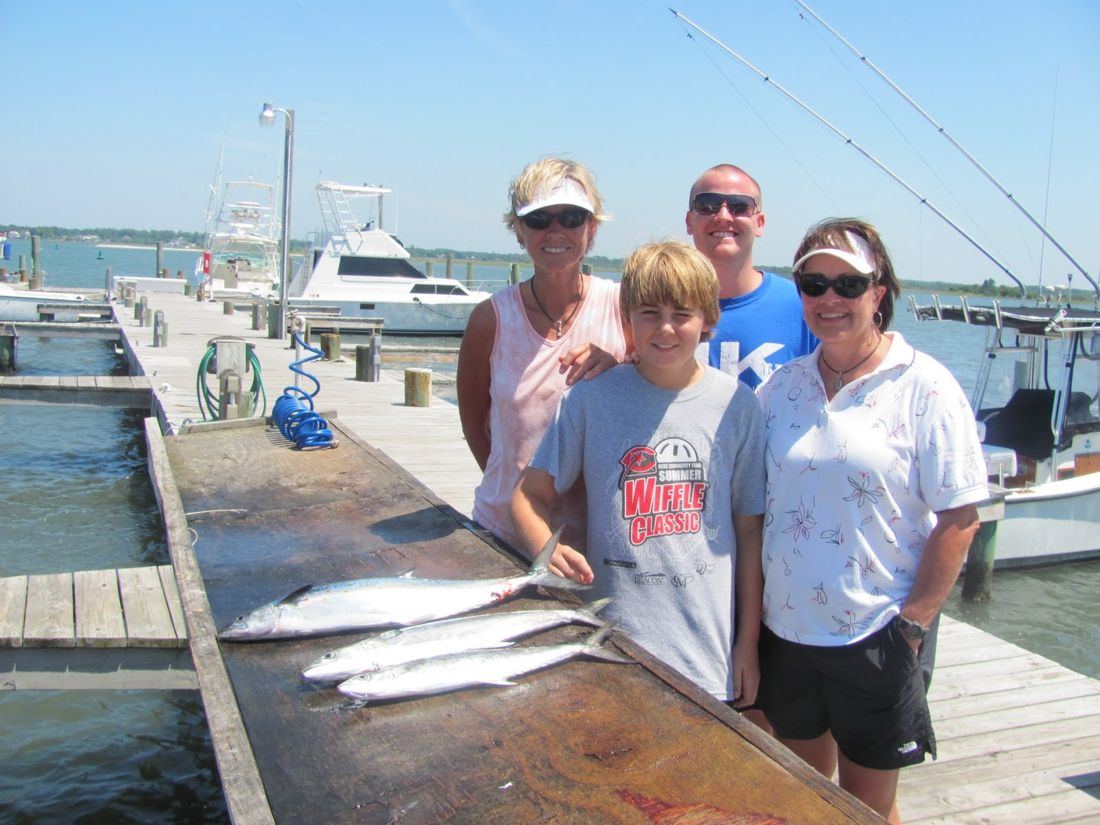 Emerald isle fishing report spanish mackerel bite is on for Fishing report emerald isle nc