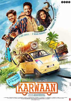 Karwaan 2018 Bollywood 300MB Movie pDVDRip 480p