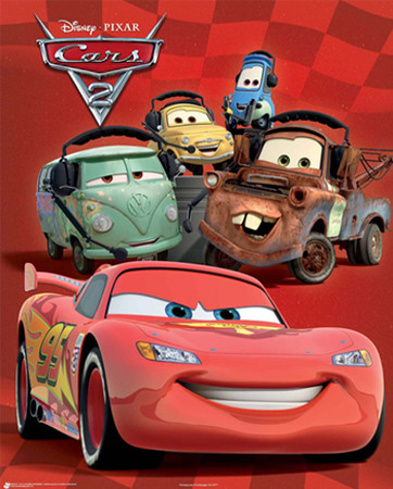 Walt Disney Cars McQueen Wallpaper