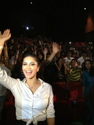 Sunny Leone at Mall