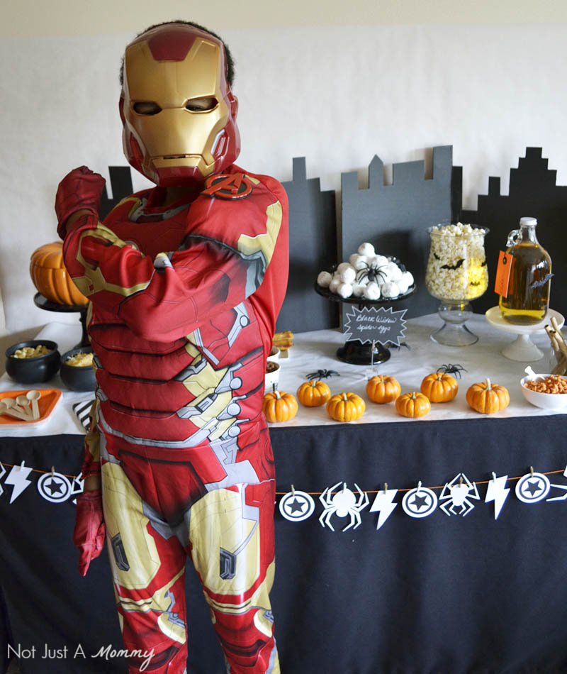 MARVEL's The Avengers: Age of Ultron Halloween Watch Party with costume