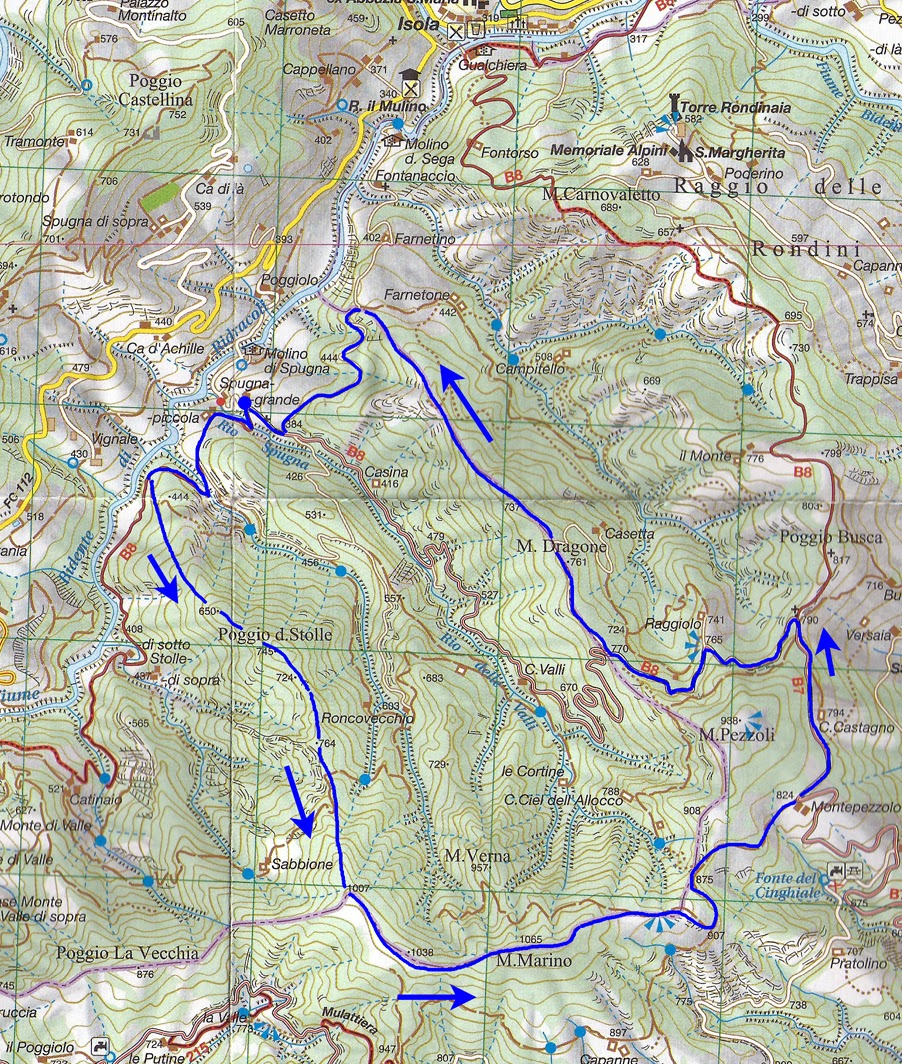 Escursionismo a 360°: Sui crinali di Poggio delle Stolle, monte ...