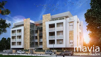 Esterni 3d rendering 3d architettura 3d architettura for Case architettura moderna