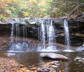 Waterfalls in Ricketts Glen State Park, Pennsylvania