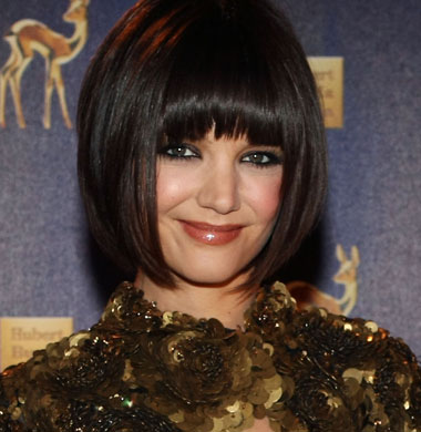 Celebrity Bob Hairstyle with Bangs - Bob Haircut with Bangs for Girls ...