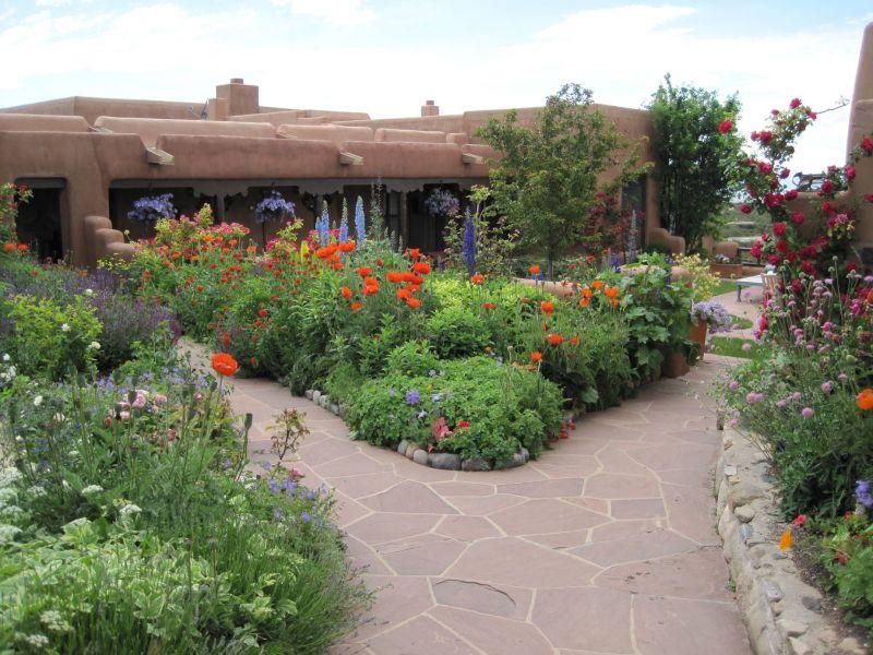 Estilo rustico jardines rusticos for Jardines rusticos