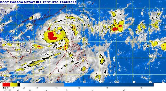 "DOST PAGASA Typhoon Utor ""Labuyo"" Satellite Image"