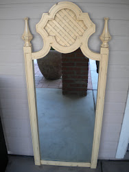 retro mirror...SOLD