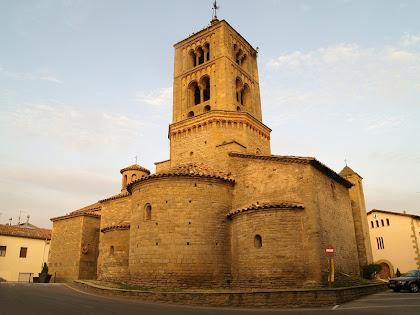 L'església parroquial de Santa Eugènia de Berga