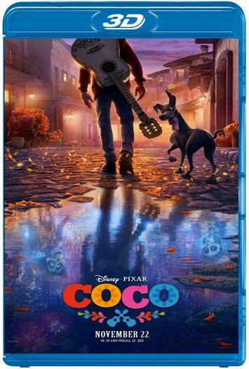 Coco 3D SBS (2017) [BrRip 1080p][Dual Latino-Ingles][MEGA]