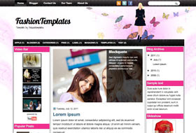 FashionTemplates Blogger Template
