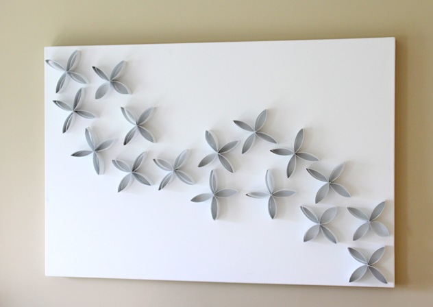 Craft of the day kidville carlsbad for Diy paper wall art