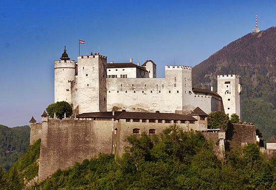 Salzburg fæstning (Hohensalzburg), Østrig