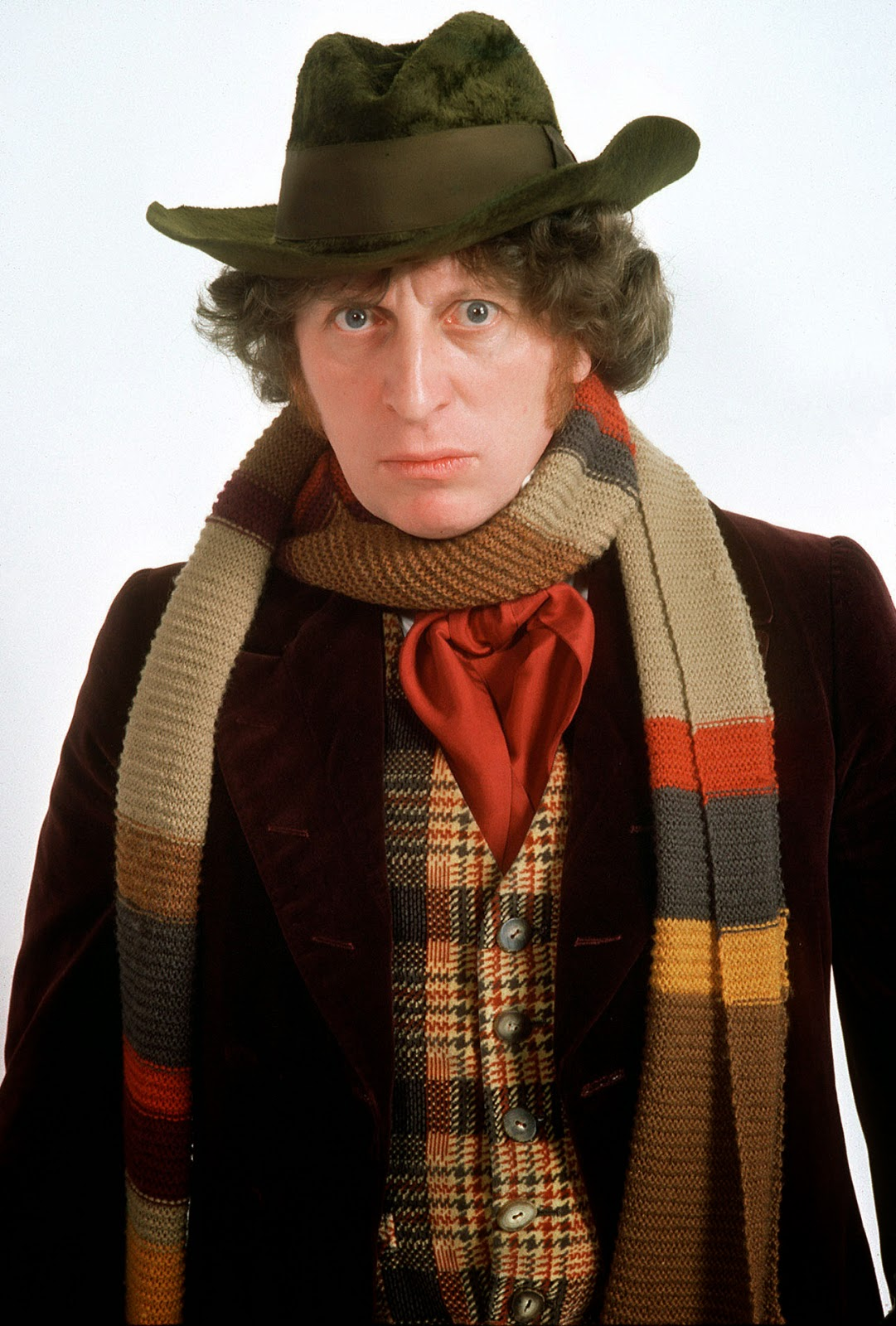 Tom Baker Doctor scarf