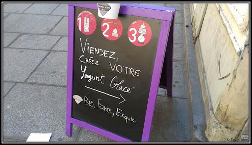 Chacun ses Goûts 4 rue Geoffroy l'Angevin Paris 4 frozen yogurt