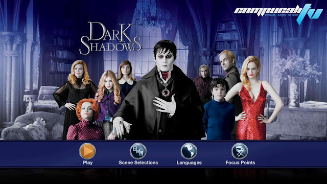 Dark Shadows DVDR NTSC Full Español Latino Película 2012