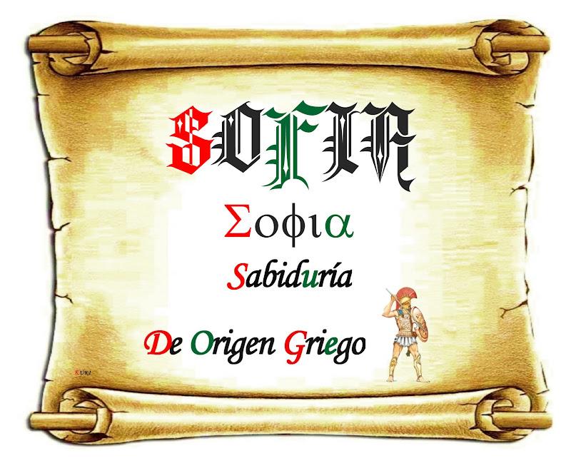 El origen de los nombres Sof237a : SofC3ADakm from elorigendelosnombres.blogspot.com size 800 x 656 jpeg 141kB