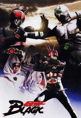 Masked Rider Black Tokusatsu Poster