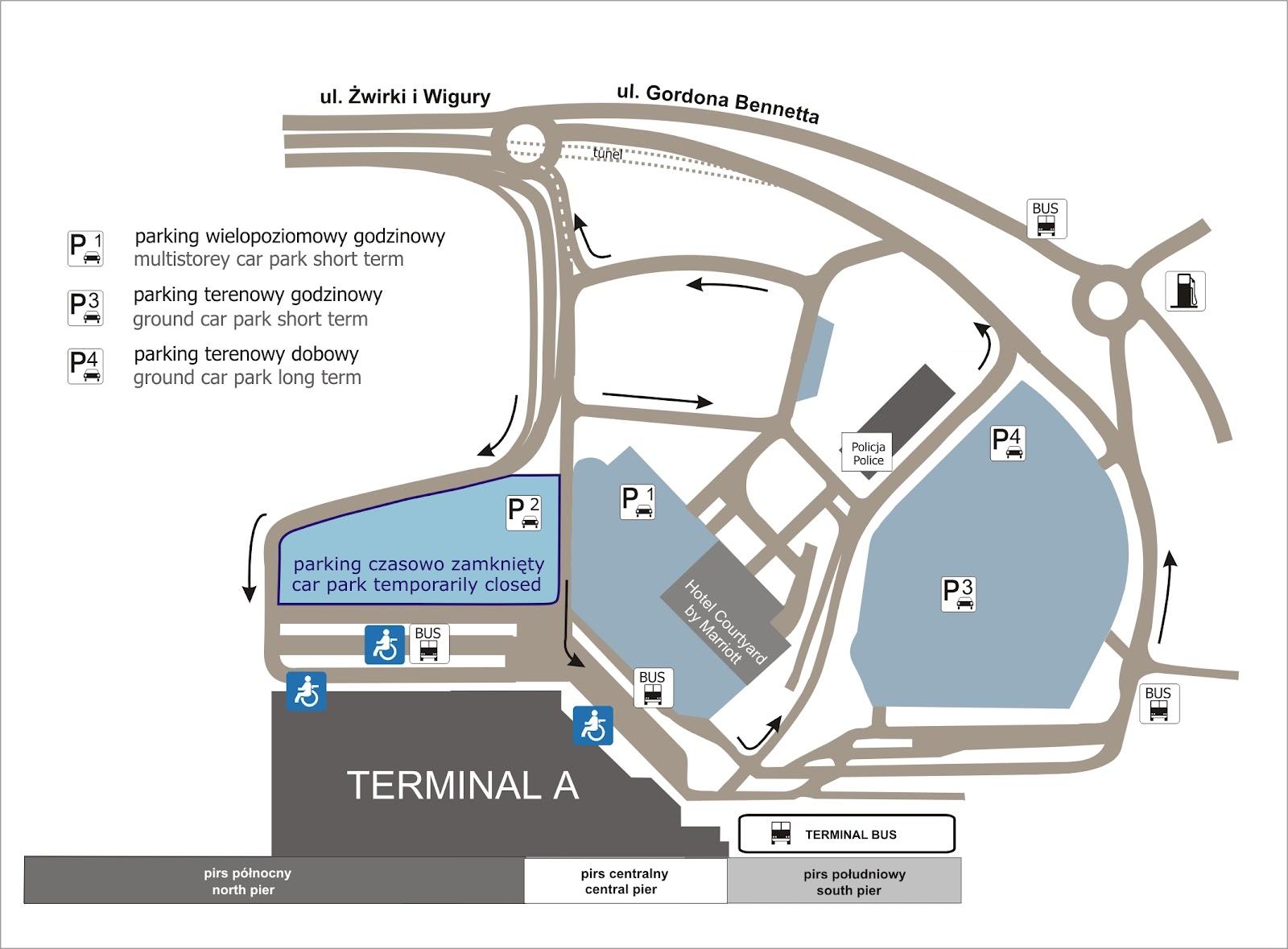 аэропорт мюнхена схема парковок