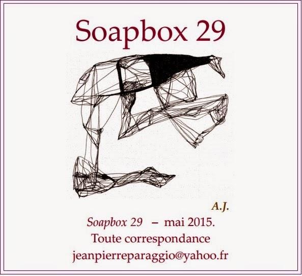 SOAPBOX N°29, FEUILLET de l'UMBO, Mai 2015, ART & POÉSIE