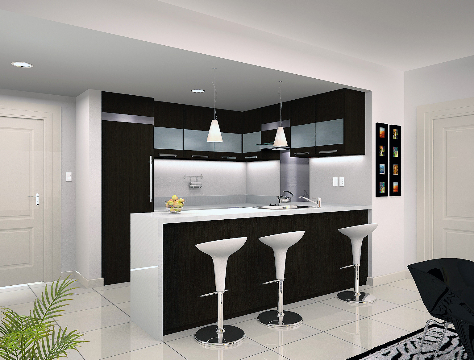 Angelo Aguilar Interior Design Portfolio Kitchen Condo - Kitchen designs sa