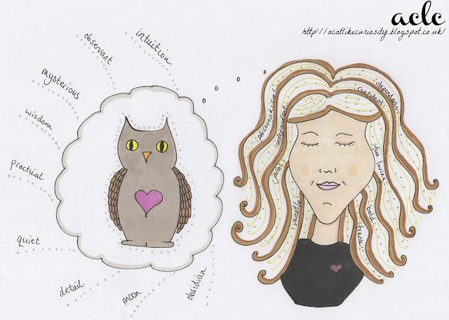 Totem Girl Illustration