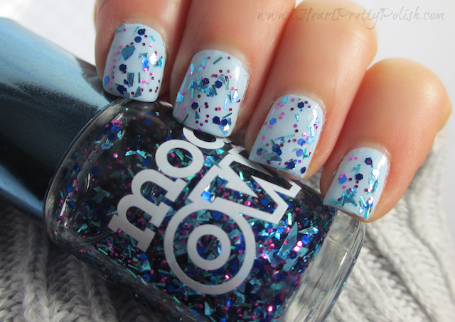 Zoya Blu Models Own Freak Out Mirrorball