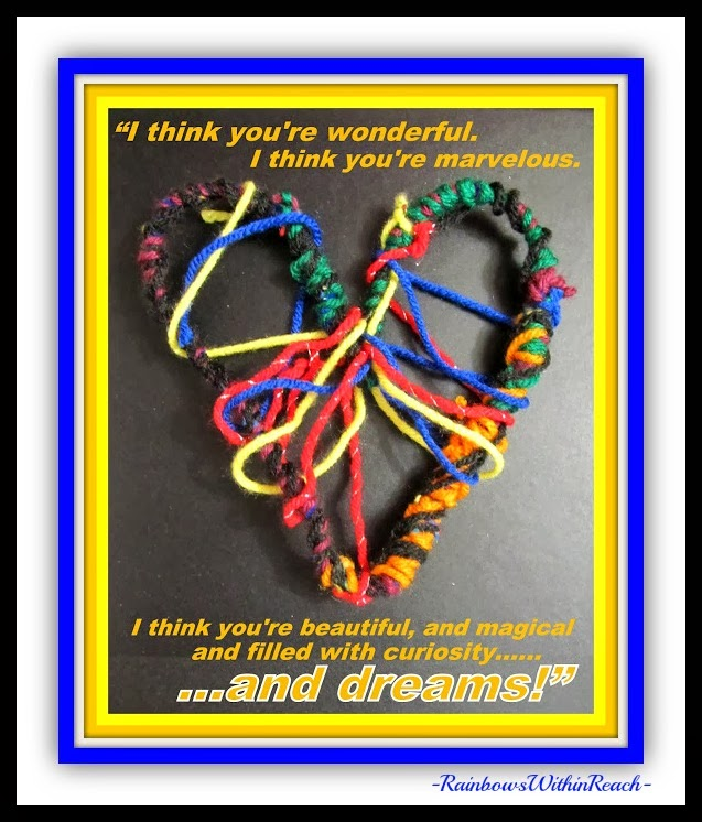 """You're Wonderful"" Dream Catchers via RainbowsWithinReach"