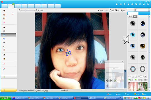 Edit Foto With Meitu Xiuxiu