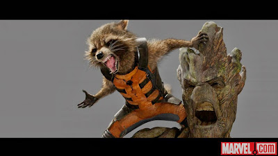 Guardians of the Galaxy Rocket and Groot Scott Young