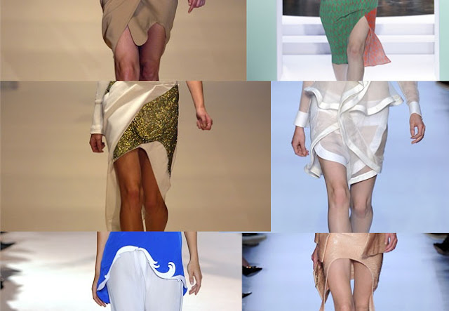 wavy hems, asymmetric hems, rounded hem skirt, rounded hem skirt, spring 2012, runway looks,diy, diy inspiration,fashion diy
