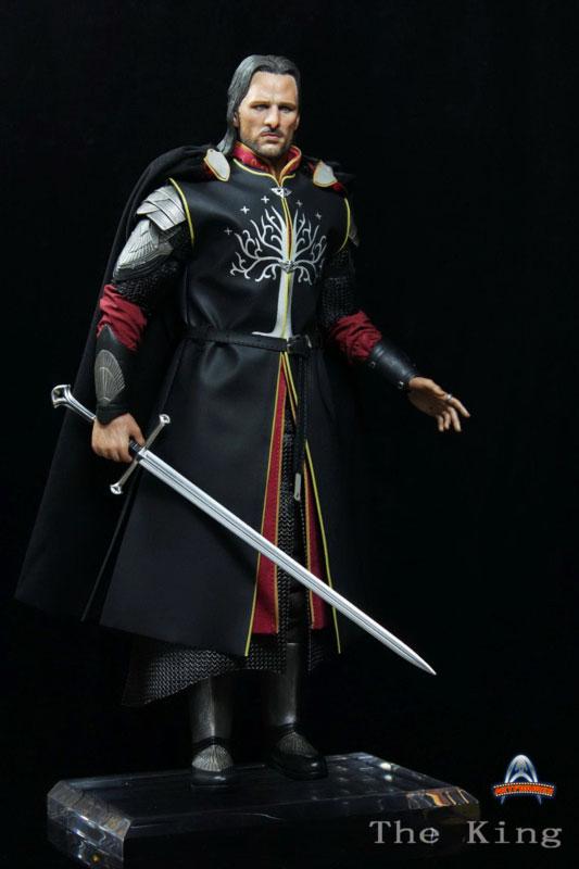 [ART-FIGURES] The King OR LOTR 1/6 Aragorn King of Gondor 12-inch Figure King-014