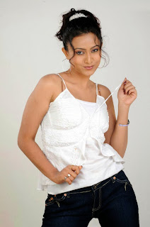 Actress Akarsha Glamour Show in Jeans and Top