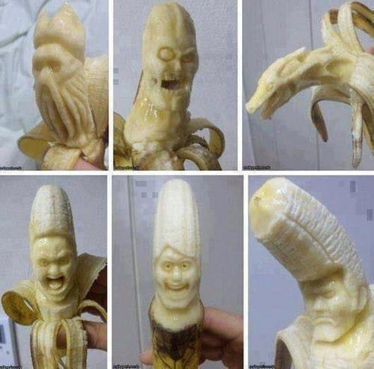 Amazing Banana Sculpture