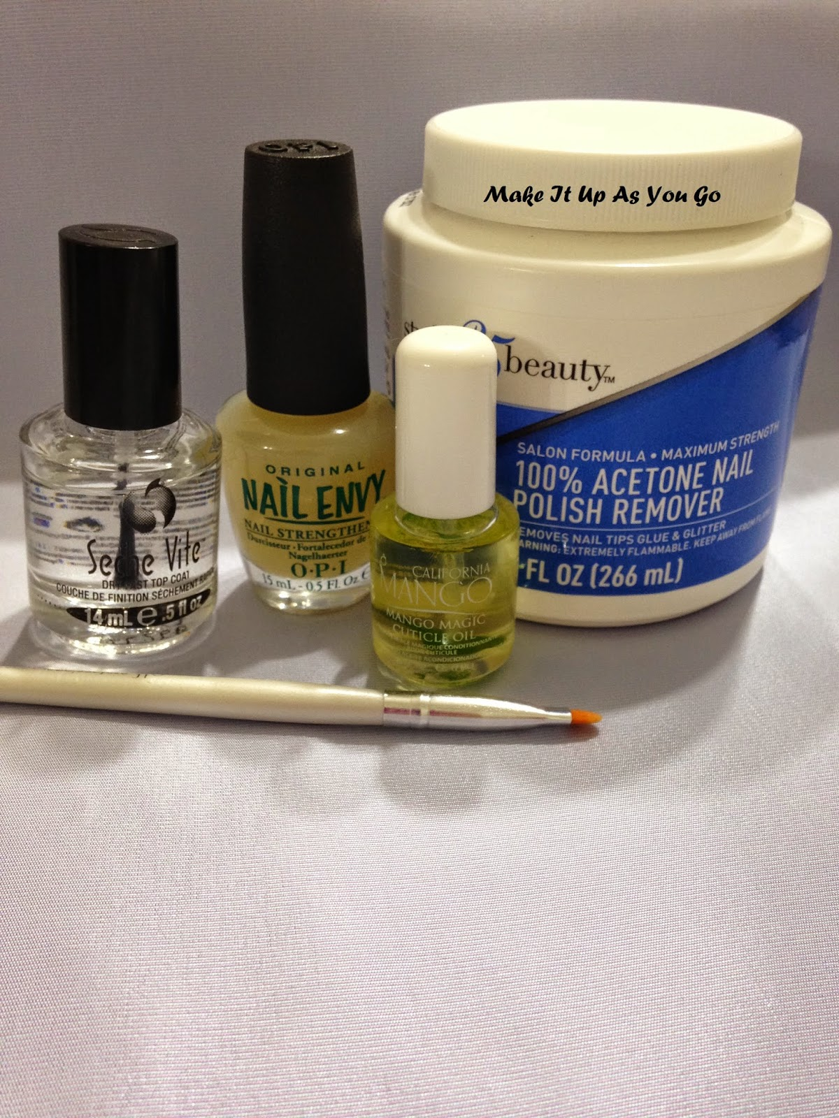 Make It Up As You Go: Lesson Learned - New Nail Accoutrements ...
